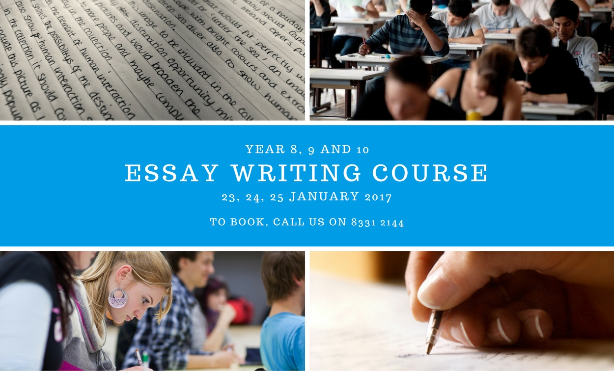 Thesis writing course description
