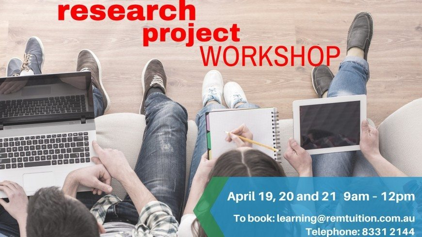 Research Project Workshop for Year 11 and 12 Students