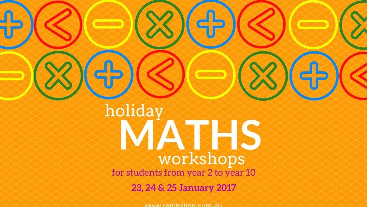Holiday Maths Workshops
